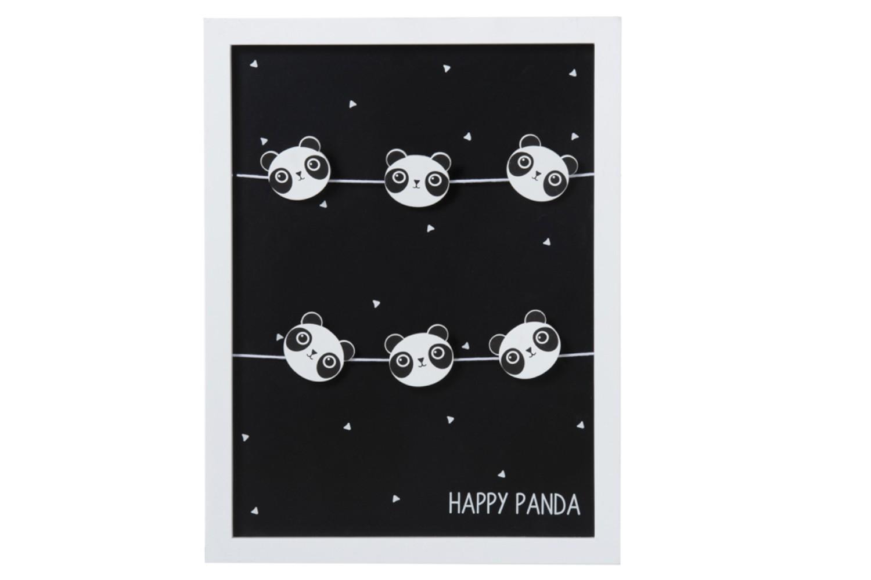 panda fotoclips zwart J90472