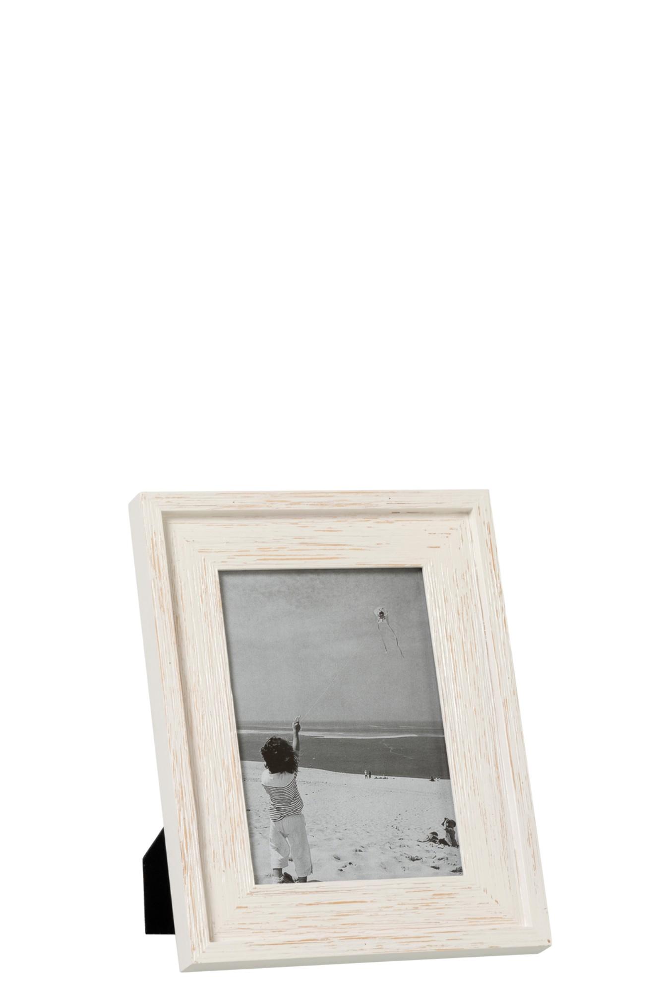 hout wit 13x18cm J93137