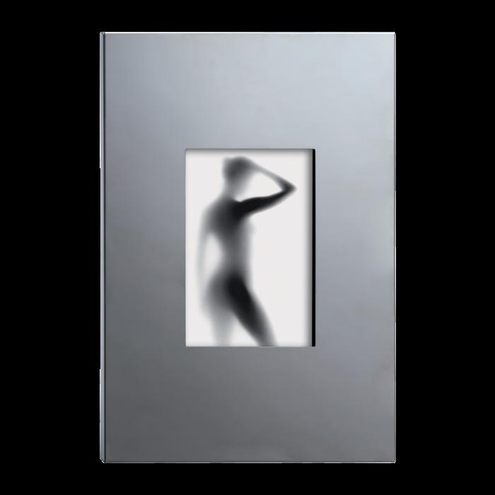 glanzend aluminum 13x18cm O608
