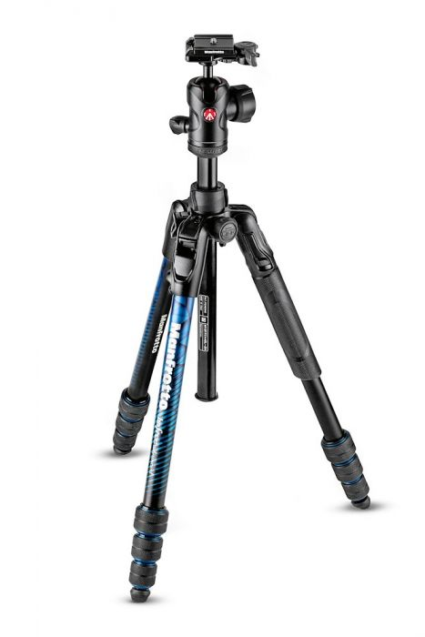 Manfrotto Befree blue Balhead
